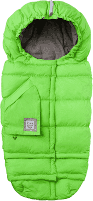 7 A.M. ENFANT Fusak do kočárku 3v1 Blanket 212 Evolution, Neon Green