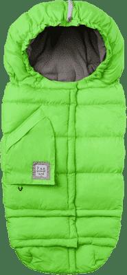 7 A.M. ENFANT Fusak do kočíka 3v1 Blanket 212 Evolution, Neon Green