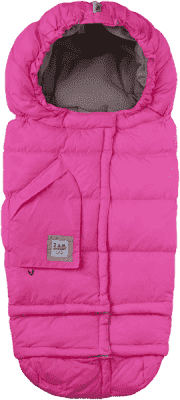 7 A.M. ENFANT Śpiworek do wózka 3w1 Blanket 212 Evolution, Neon Pink