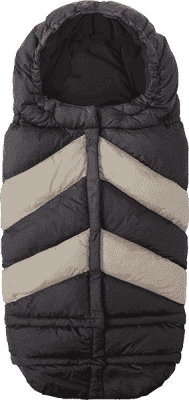 7 A.M. ENFANT Fusak do kočárku 3v1 Blanket 212 Chevron, Black / Beige