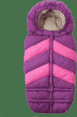 7 A.M. ENFANT Fusak do kočárku 3v1 Blanket 212 Chevron, Grape / Pink