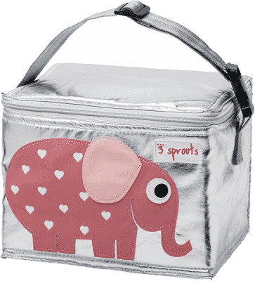3 SPROUTS Pudełko śniadaniowe Elephant