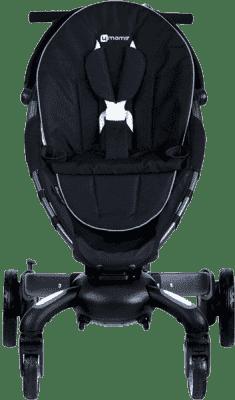 4MOMS Origami color kit. Wymienna wkładka na siedzisko do wózka Origami Black