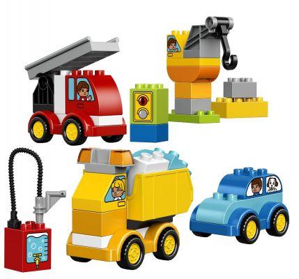 LEGO® DUPLO® 10816 Toddler Moje prvé autíčka a nákladiaky