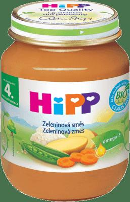HIPP BIO Zeleninová zmes 125 g - zeleninový príkrm