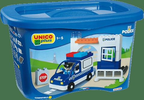 UNICO Stavebnica Policajná stanica 41ks