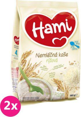 2x HAMI Rýžová (180 g) - nemléčná kaše