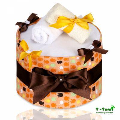 T-TOMI Plenkový dort, velké oranžové tlapky