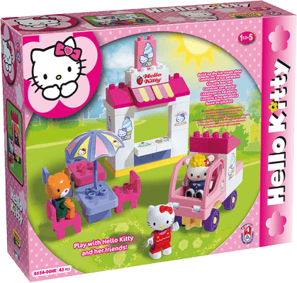UNICO Hello Kitty Zestaw klocków - Cukiernia 43 szt.