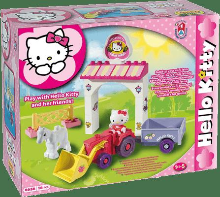 UNICO Hello Kitty Stavebnica – Mini farma 18ks