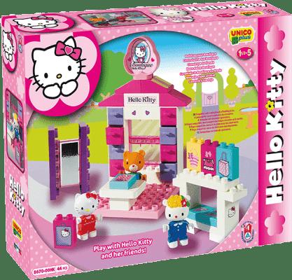 UNICO Hello Kitty Stavebnica – Módny butik 44ks