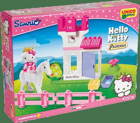 UNICO Hello Kitty Zestaw klocków – Hello Kitty i jej konik 30 szt.