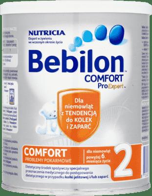 BEBILON Comfort 2 ProExpert 400 g – Mleko następne dla niemowląt powyżej 6. miesiąca życia