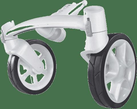 QUINNY Modul 4 kolesá biely pre kočík Moodd