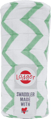LODGER Multifunkčný osuška Swaddler Cotton - Anise