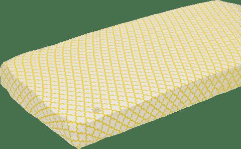 LODGER Prostěradlo Slumber Cotton do postýlky 70x140cm – Gold