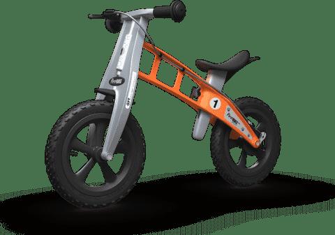 FIRST BIKE Rowerek / Jeździk Cross Orange