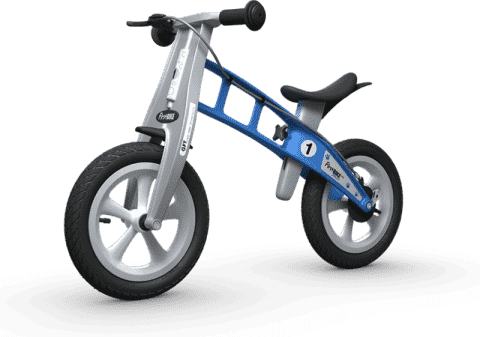 FIRST BIKE Rowerek / Jeździk Street Light Blue