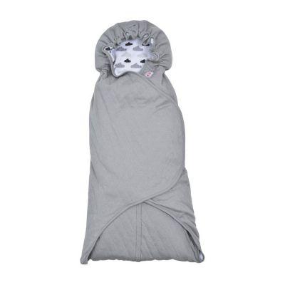 LODGER Zavinovačka Wrapper Clever Quilt – Grey