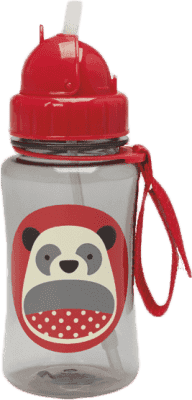 SKIP HOP Zoo Lahvička s brčkem Panda 12 m+