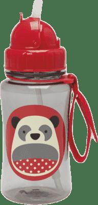 SKIP HOP Zoo Fľaštička so slamkou Panda 12 m+