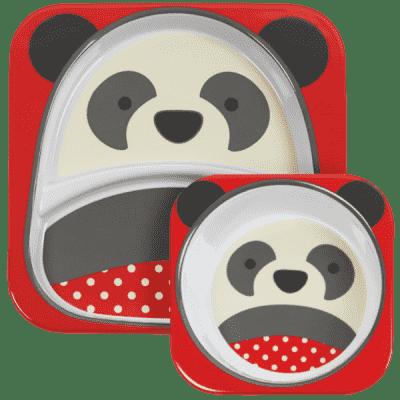 SKIP HOP Zoo Jedálenský set - Panda