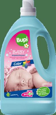 BUPI Baby Color tekutý prací prostriedok pre citlivou pokožkou 3 l
