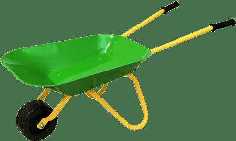 WOODY Koliesko zelené, kov - záhradné náradie