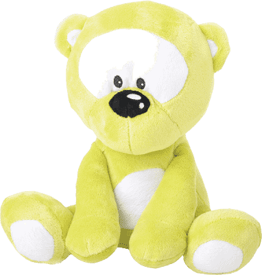 MIKRO TRADING Medvedík zelený v tme svieti
