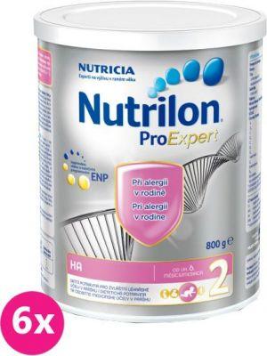 6x NUTRILON 2 ProExpert HA (800g) - dojčenské mlieko
