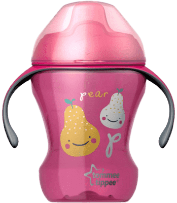 TOMMEE TIPPEE Netečúci hrnček Explora Easy Drink 6m +, 230ml-dievča