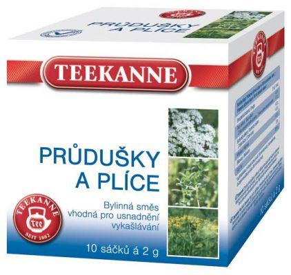 TEEKANNE bylinný čaj - průdušky a plíce, 10 sáčků