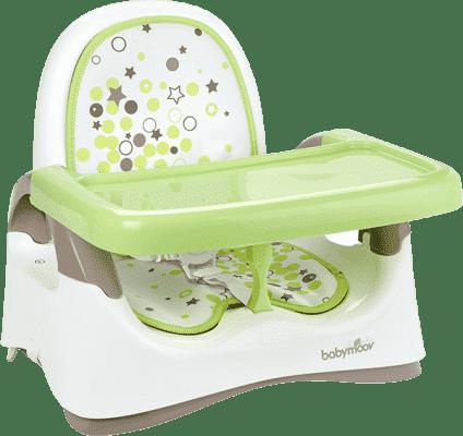 BABYMOOV Plastová prenosná stolička Compact Seat, Green