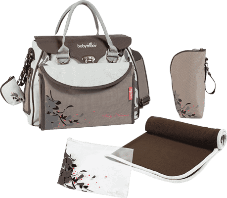BABYMOOV Přebalovací taška Baby Style, Natural