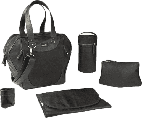 BABYMOOV Torba do przewijania City Bag Black