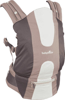 BABYMOOV Ergonomická klokanka new design, Brown