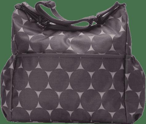 BABYMEL Přebalovací taška Slouchy Jumbo Dot Grey