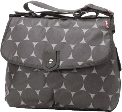 BABYMEL Přebalovací taška Satchel Jumbo Dot Grey