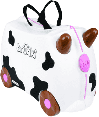TRUNKI Kufrík + odrážadlo kravička Frieda