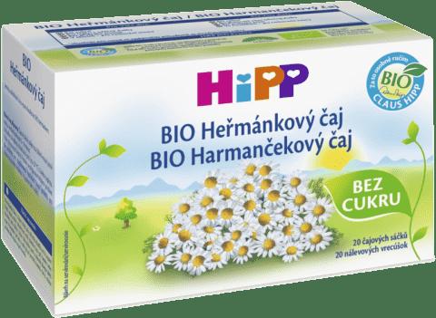 HIPP BIO Harmančekový čaj 20x 1,5 g