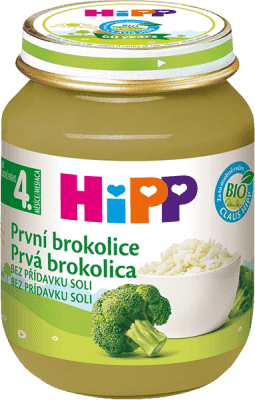 HIPP BIO Prvá brokolica 125 g - zeleninový príkrm