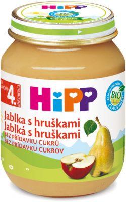 HIPP jablka s hruškami (125 g) - ovocný příkrm
