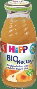 HIPP BIO Marhuľovo-hruškový nektar 200 ml