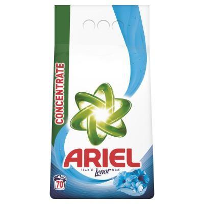 ARIEL Touch of Lenor 4,9kg (70 dávok) - prací prášok