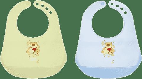 CANPOL BABIES Podbradník plastový - chlapček - rôzne druhy