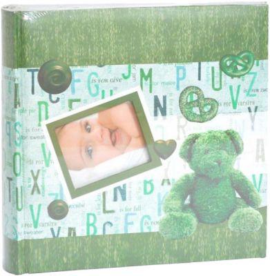 FOTOALBUM dětské 10x15/200 foto - zelené