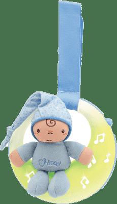 CHICCO Muzyczna lampka nocna kolor niebieski