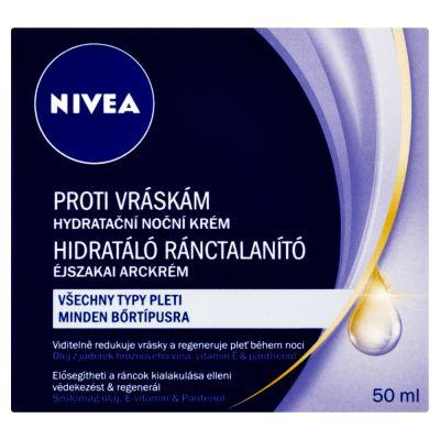NIVEA Hydratačný nočný krém proti vráskam 50ml