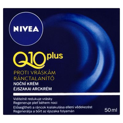 NIVEA Nočný krém proti vráskam Q10 50ml