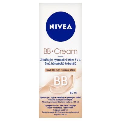 NIVEA upiększający krem nawilżający 5 w 1 BB cera śniada 50 ml